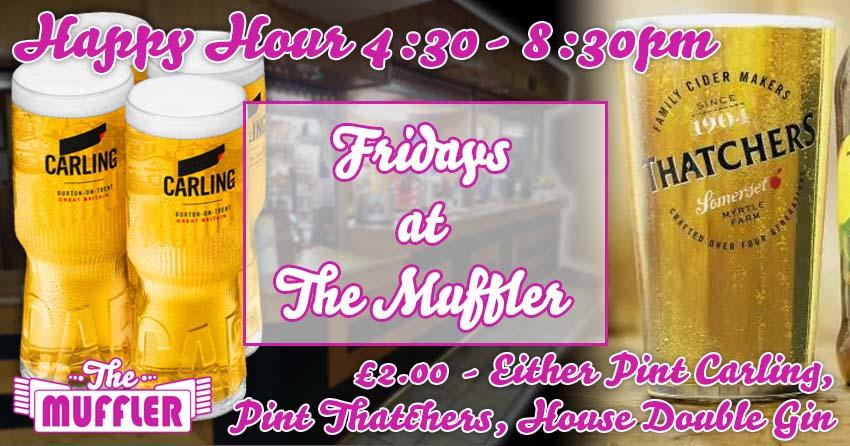 Fridays at The Muffler banner image