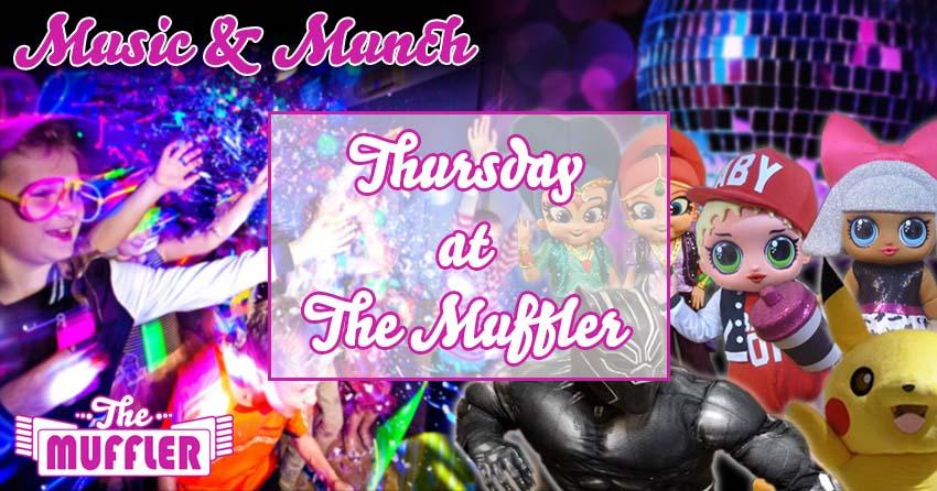 Thursdays at The Muffler banner image