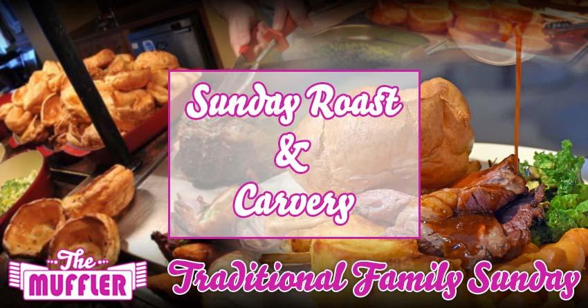 The Muffler Roast Dinner & Carvery banner image