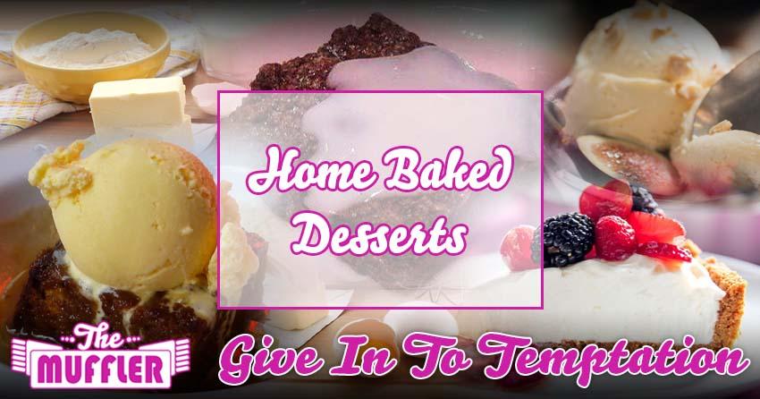 The Muffler Desserts Menu banner image