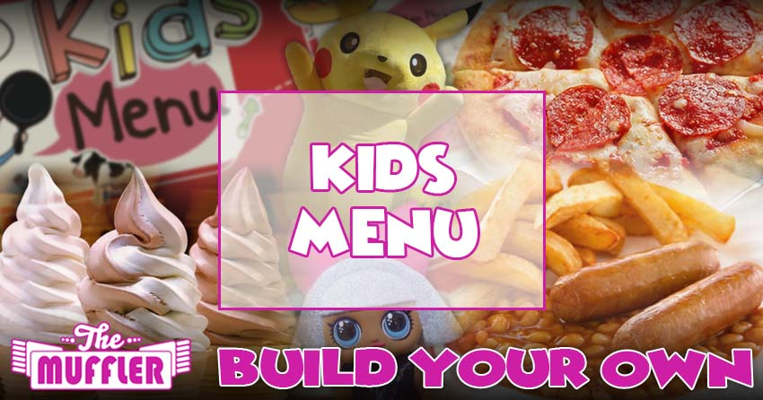 The Muffler Kids Menu banner image
