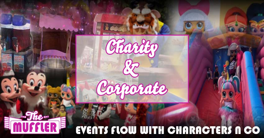 Charity, Corporate & School Events banner image