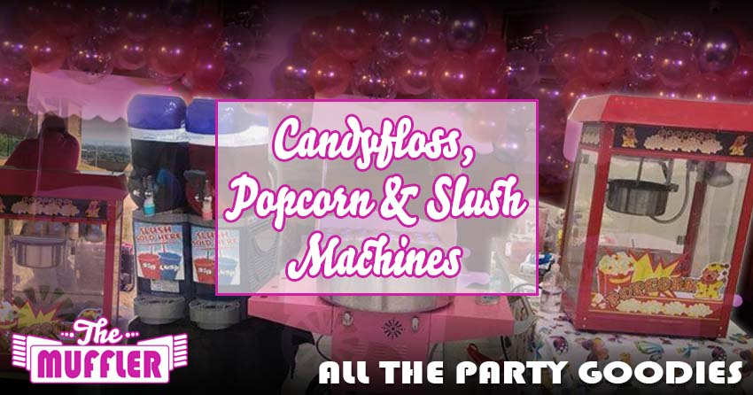 Candyfloss, Popcorn and Slush Machines banner image