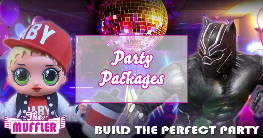 Party Packages banner image