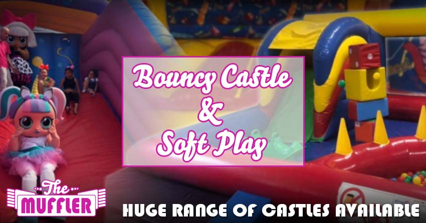 Bouncy Castles, Soft Play and Whack a Mole banner image