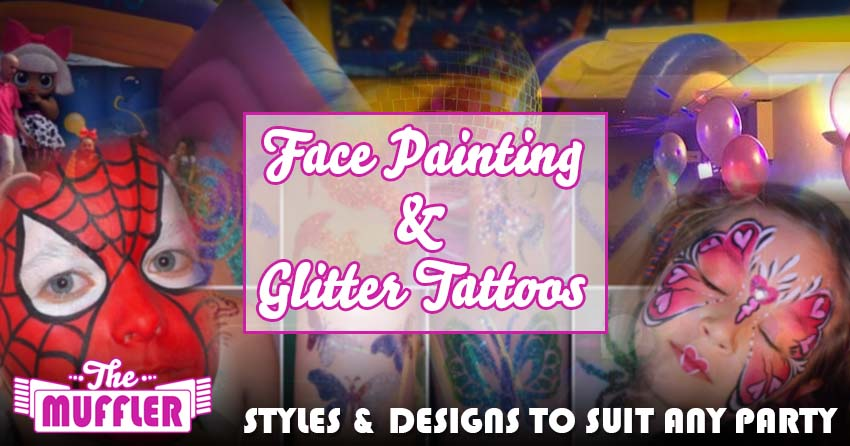 Face Painting & Glitter Tattoos banner image
