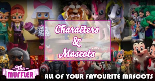 Character Mascots Hire Service Article Image