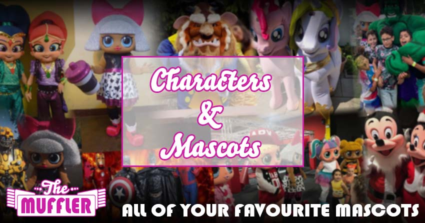 Character Mascots Hire banner image