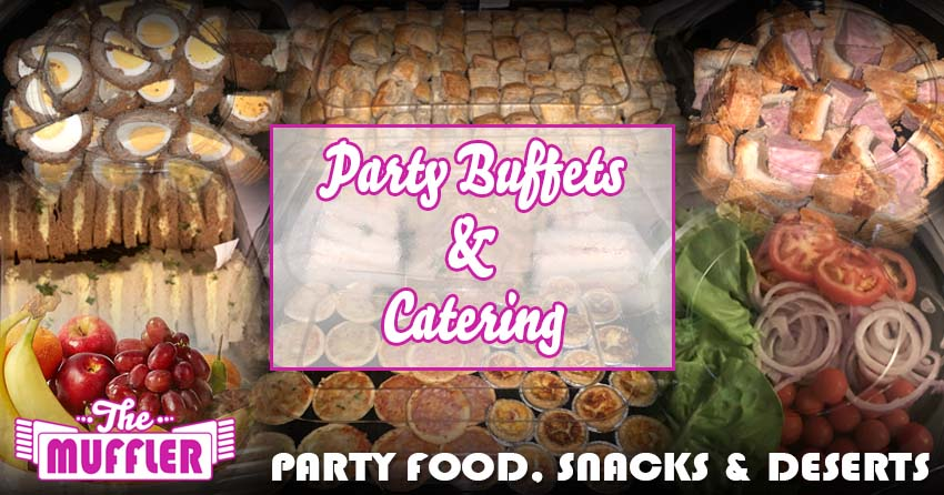 Buffets & Catering At The Muffler banner image
