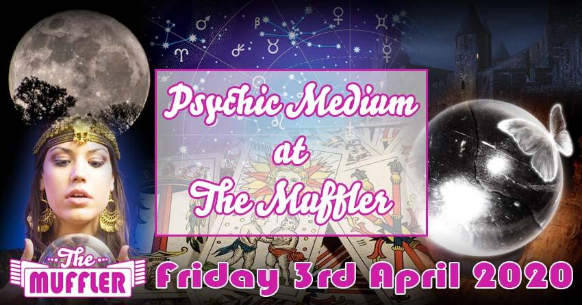 Psychic Medium & Spiritualist Night - 3rd April 2020 banner image